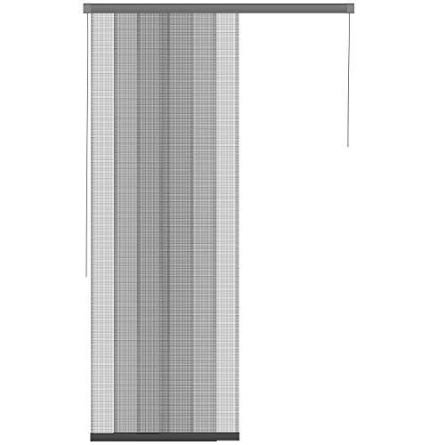 1PLUS Premium Insekten Türvorhang in verschiedenen Größen, individuell kürzbar (114 x 250 cm)