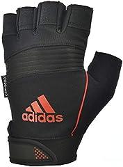 adidas Full Finger Performance Guantes, Unisex, Naranja, M