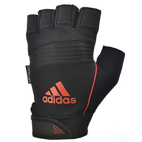 Adidas Performance Gloves Unisex handschoen, zwart/oranje, L