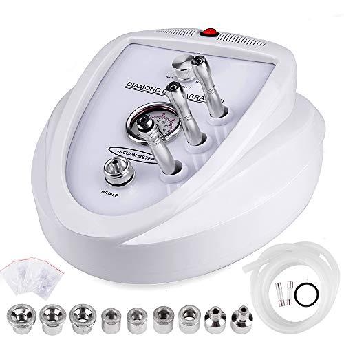 Máquina de dermoabrasión Yofuly Diamond Microdermoabrasión, uso profesional en el hogar, equipo de salón de belleza facial (potencia de succión 65-68 cmhg)