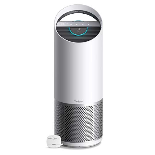 TruSens Z-3000 Air Purifier   Remote SensorPod   360 HEPA Filtration with Dupont Filter   UV Light Sterilization Kills Bacteria Germs Odor Allergens in Home   Dual Airflow for Full Coverage (Large)