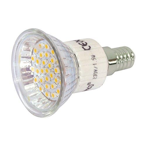 LED-Reflektor E14 30 LEDs warmweiss MR16