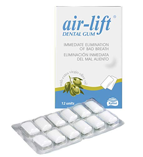 air-lift Chicles, aliento fresco 12 uds