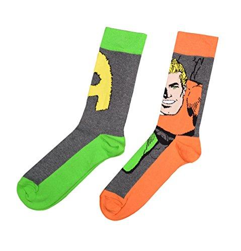 Aquaman - Twin Pack Sock Set