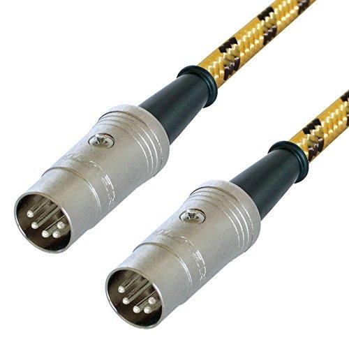 Designacable Van Damme XKE Midi-Kabel, anpassbar, für Keyboards/Synthesizer/Drum Machines
