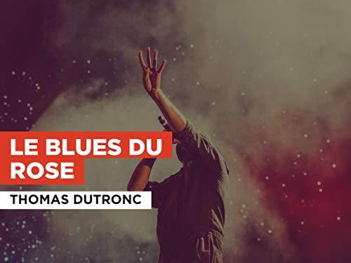 Le blues du rose im Stil von Thomas Dutronc