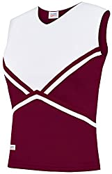 Chasse Girls Double Knit Crown Cheer Uniform Shell Tops