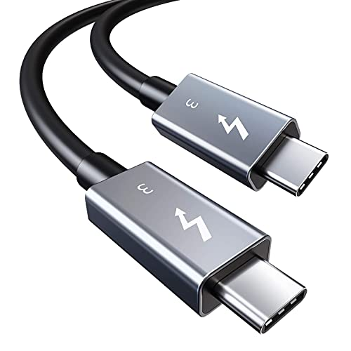 認証済み CABLETIME USB Type C Thunderbolt 3 ケーブル USB-C & USB-C 超高速 40Gbps 100W出力 USB3.1 / 3...