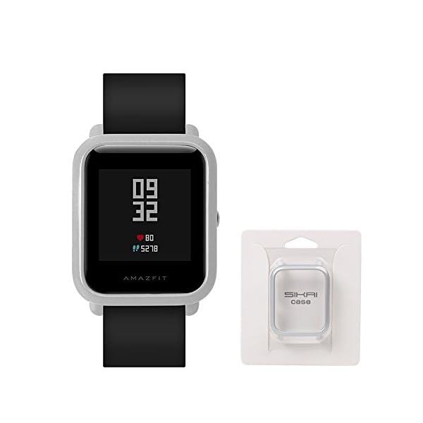 Xiaomi Huami Amazfit Bip Smartwatch Protector Case Funda SIKAI Moda Slim Colorido Marco Caso Cubierta Proteger Shell… 3