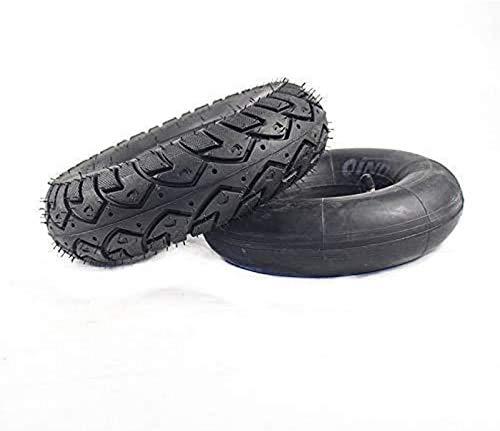 aipipl Tubo Interior de neumáticos 4,10/3,50-4 para Scooter de Motocicleta 47 / 49CC Mini Quad Dirt Pit Bike Piezas de neumáticos Gruesos, Ruedas de Repuesto