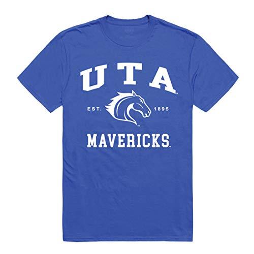 UTA UT Arlington Mavericks NCAA Seal College T Shirt - Royal, Large