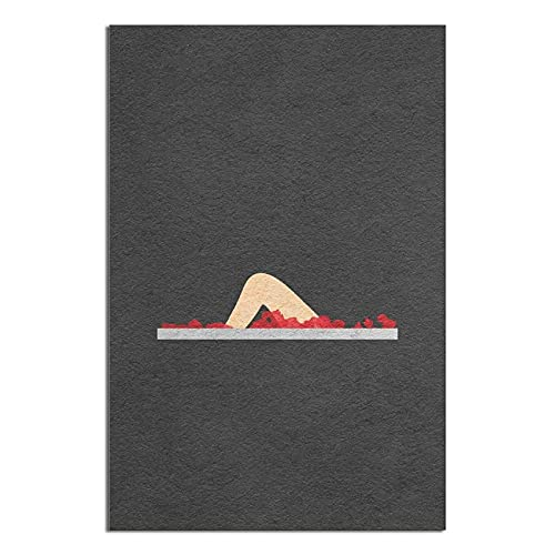2525 Cartel de película de estaño retro American Beauty Poster Cinema Cafe Habitación Familiar Cuarto de Baño Dormitorio Bar Club Restaurante Decoración de Pared 30 x 45 cm