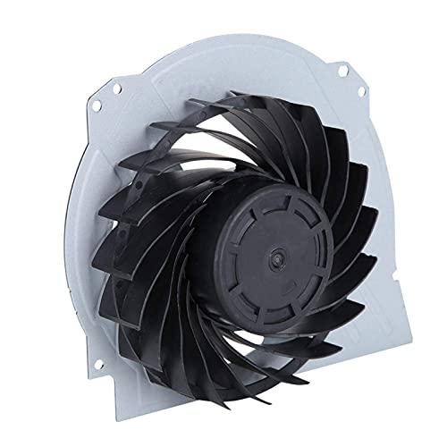 DAUERHAFT Ventilador de refrigeración portátil Compacto, Ventilador de refrigeración Interno Negro de Repuesto DC 12V, para PS4 Pro 7000-7500