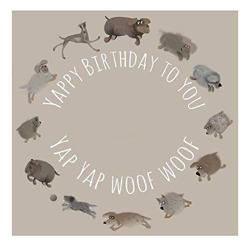 Hond Verjaardagskaart