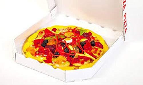 Look O Look Candy Pizza - Kreation aus Fruchtgummi und Schaumzucker im original Pizzakarton, 435 g