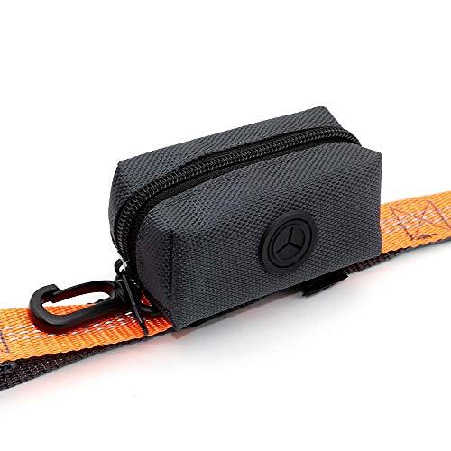 SLSON Pet Waste Bag Dispenser Zippered Pouch,Portable Dog Poop Bag...