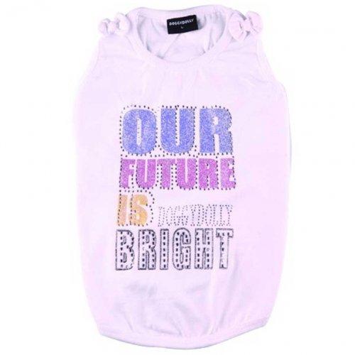 Doggydolly Shirt Future Bright Blanc Girl de