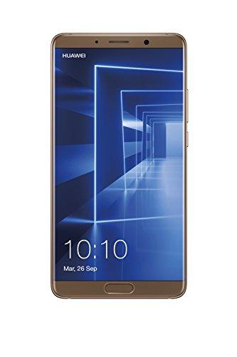 Huawei Mate 10 - Smartphone de 5.9'' (Kirin 970 + IA, RAM de 4 GB, Memoria Interna de 64 GB, cámara Dual Leica Twilight 20 + 12 MP f 1.6 y OIS MP, Android), Color Oro