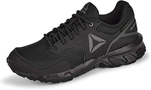 Reebok Herren Ridgerider Trail 4.0 GTX Leichtathletik-Schuh, Black/Grey, 43 EU