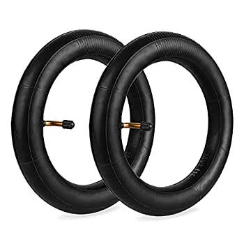 2-Pack Bike Inner Tubes 10x1.75/1.90/1.95/2.0/2.125 Angled Valve Stem 10  Inner Tubes Compatible with 10x1.75 10x1.90 10x1.95 10x2.0 10x2.10 10x2.125 Most Baby Stroller Tire & Kids Bike Tire