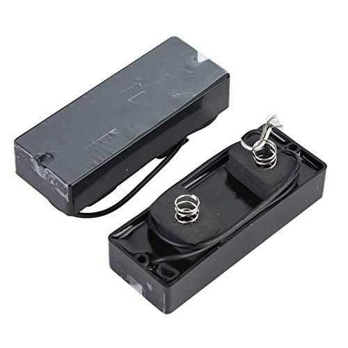 Pastilla para bajo, pastilla para bajo eléctrico Ligero 2 piezas resistente para bajo para bajo eléctrico