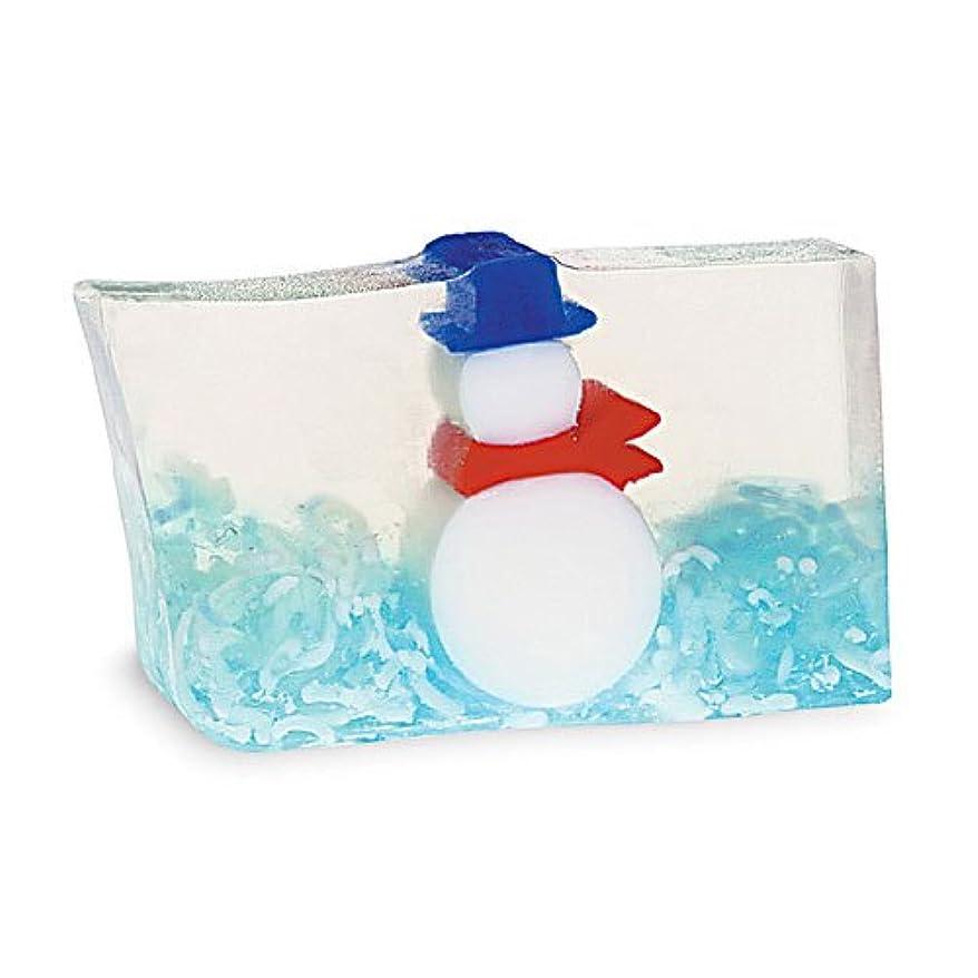 入浴お柔らかさプライモールエレメンツ アロマティック ソープ スノーマン 180g 植物性 ナチュラル 石鹸 無添加