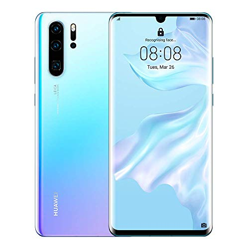 HUAWEI P30 Pro Dual SIM 128GB 6GB RAM VOG-L29 Breathing Crystal Blau SIM Free