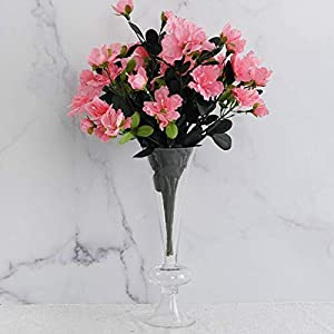 Tableclothsfactory 120 pcs Artificial GARDENIAS Flowers for Wedding Arrangements – Pink