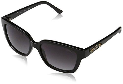 Guess GF6014_01B Gafas de sol, Negro (Nero), 55 para Mujer