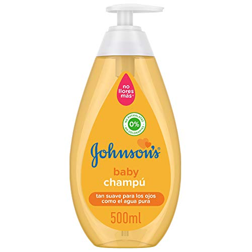 Johnson's Baby Champú Familiar, Dosificador , 500 ml