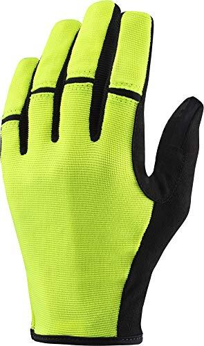 MAVIC Essential Thermo Winter Fahrrad Handschuhe gelb 2020: Größe: S (8)