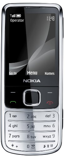Nokia 6700 Classic Chrome (UMTS, GPRS, Bluetooth, Kamera mit 5 MP, Musik-Player) UMTS Handy