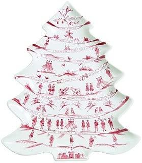 Juliska Country Estate Winter Frolic Ruby Tree Platter 12 Days Of Christmas