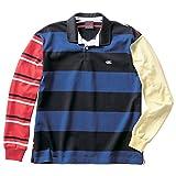 [カンタベリー] ラガーシャツ L/S STRIPE RUGBY J メンズ UG 日本 3L (日本サイズ3L相当)