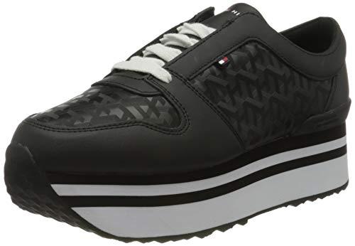 Tommy Hilfiger Damen Ariana 1a2 Sneaker, Schwarz (Black Bds), 39 EU