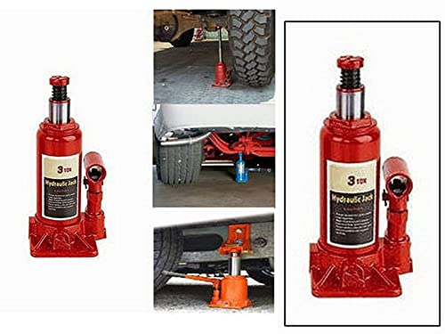 Vocado 3 Ton Car Hydraulic Bottle Shaped Jack for Tata Harrier-BIV-Bottle_Jack_3Ton_Harrier