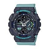 Casio Analog-Digital Black Dial Women's Watch-GMA-S140-2ADR (G983)