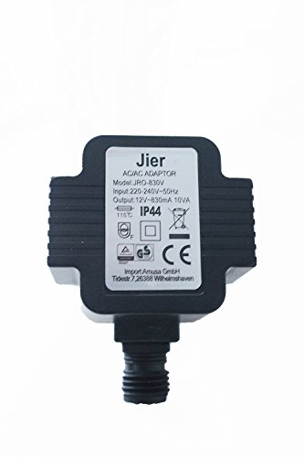 Preisvergleich Produktbild Arnusa Steckernetzteil 12V AC 830mA 10VA IP44 10W Trafo