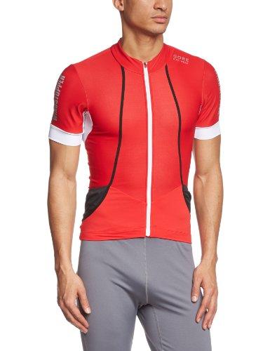 Gore Bike WEAR Herren Trikot Oxygen Soft Shell, Red/White, S, SMWOXY350107