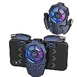 PUBG - Mando móvil, 25 disparos por segundo, controladores de juegos móviles para PUBG/Fortnite/Cod, agarre para juegos y joysticks para Android y iOS