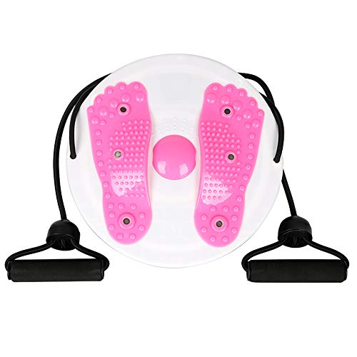 %8 OFF! HYONAN Upgraded Version of Fitness Massage Twist Waist Plate(Pink)