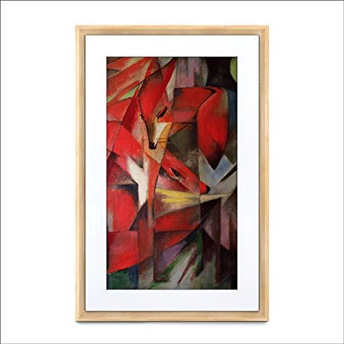 Meural Canvas II MC321LW - Marco artístico inteligente para cargar fotos digitales (16 x 24, HD, 21.5