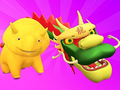 【Chinesisches Neujahr】Farben und Tiere mit Ballons / Muscheln zählen / Lerne Farben mit einem gefleckten Frosch
