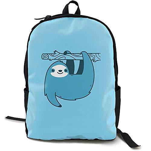 Kimi-Shop School Backpack Sloths Jetpacks 3D Adult Outdoor Leisure Sports Backpack