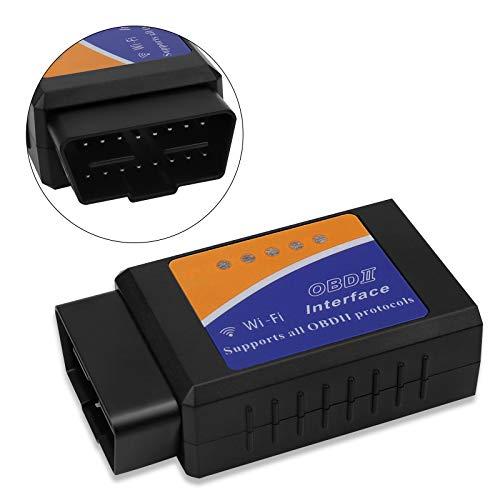 SNUNGPHIR OBD2 WiFi Scanner, OBD2 ELM327 Auto Diagnosegerät, OBD II Diagnose Scanner für Alle Fahrzeuge, Universal Fehler-Code KFZ Auslesegerät, OBD2 WiFi Adapter für iOS, Android & Windows Geräten