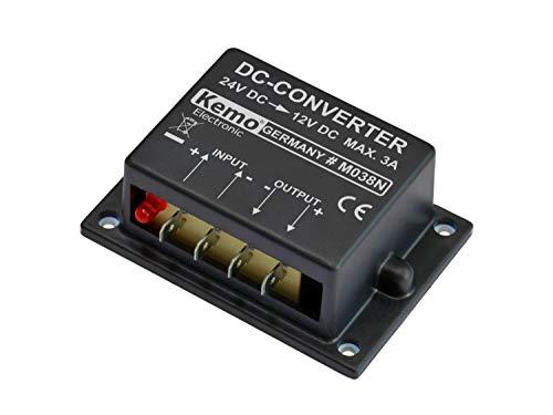 Kemo Spannungswandler Baustein Eingangsspannung (Bereich): 24 - 26 V/DC Ausgangsspannung (Bereich): 12 V/DC (max.)