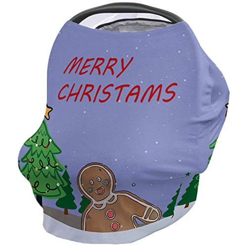 Find Discount Breastfeeding Nursing Cover Multi Use for Baby Car Seat Merry Christmas Fantastic Fir ...