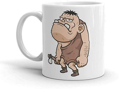 Kaffeebecher 11oz-Cave Man Neandertaler 11oz Kaffee Teebecher