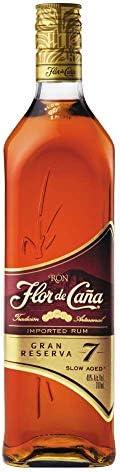 Ron Flor de Caña 7 Años Gran Reserva - 1 botella de 70 cl