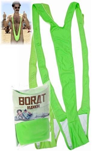 Borat Mankini - Badeanzug in grün